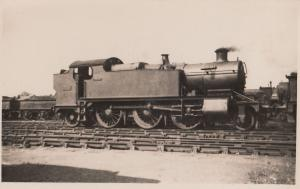 GWR Class 2-6-2T no 3174 in 1926 Train Real Photo Old Postcard