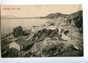190726 SPAIN MALAGA Bella-Vista Vintage postcard