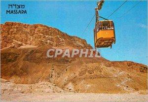Modern Postcard Masada the Cableway