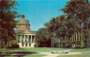 New York~University of Rochester~Rush Rhees Library & Tower~1950s Postcard