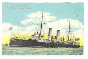 H.M.S. APOLLO (Second Class Cruiser), 00-10s