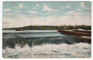 Bangor, Maine, Dam at Water Works