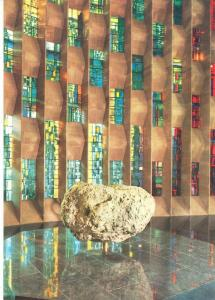 UK, Coventry Cathedral, the font, unused Postcard