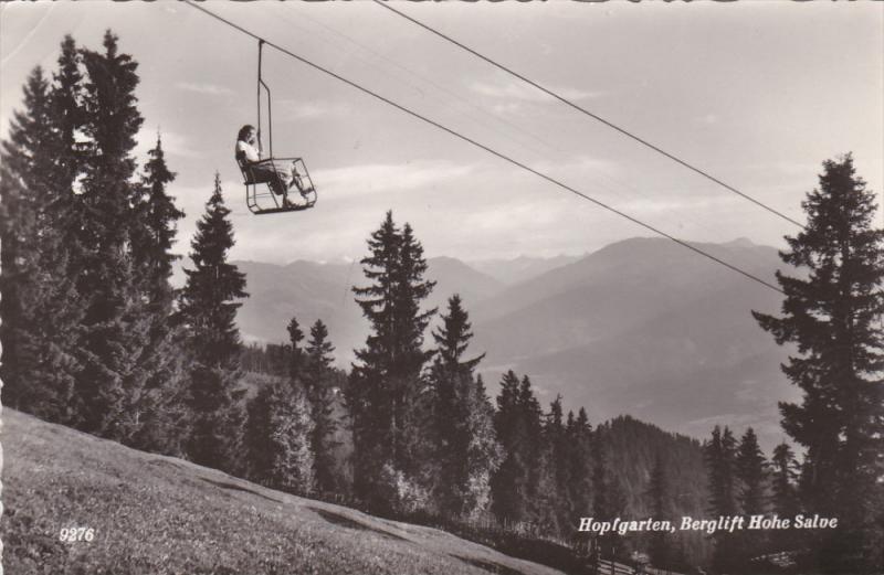 RP, Berglift Hohe Salve, HOPFGARTEN (Tirol), Austria, PU-1955