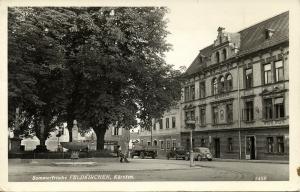 austria, FELDKIRCHEN, Kärnten, Sommerfrische, Gasthof Gärther (1950s) RPPC