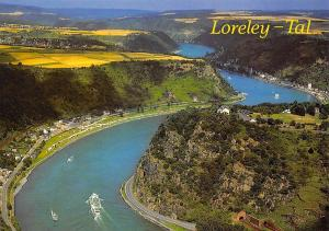 Loreley Tal, Rock Valley of the Loreley River Boats General view