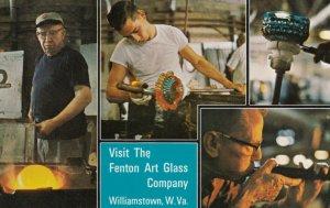 WILLIAMSTOWN, West Virginia, 1940-60s; Fenton Art glass Company