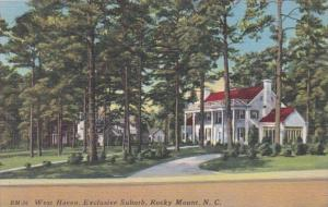 North Carolina Rocky Mount West Haven Exclusive Suburb