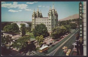 Temple Square,Salt Lake City,UT Postcard