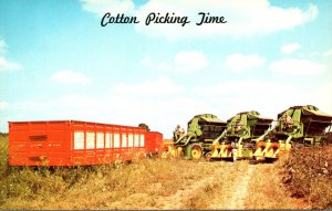 Greetings From Dixieland Cotton Picking Time