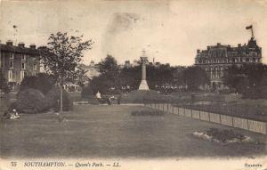 Southampton Queen's Park Promenade Postcard