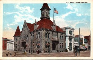 Pennsylvania Johnstown City Hall Curteich