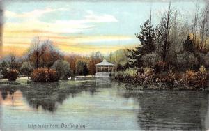 Darlington Lake in the Park Lac