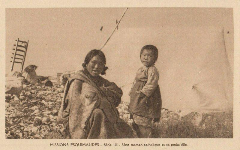 CANADA , 1910s ; Missions Esquimaudes #9