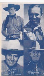 Cowboy Arcade Card Tom Tyler Gene Autry Leo Maloney
