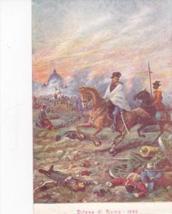 Difesa di Roma - 1849 , Italy , 00-10s