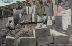 Stone Quarry, BERMUDA, 1900-10s