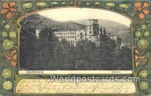 Schloss Heidelberg Germany Postal Used Unknown