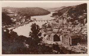 RP: EAST LOOE , UK , 1910-30s ; River & Bridge ;TUCK