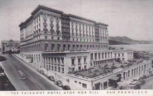 California San Francisco The Fairmont Hotel Atop Nob Hill