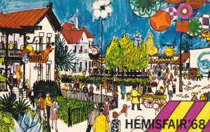 SAN ANTONIO, Texas, 1960´s; 1968 World´s Fair, Hemisfair