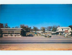 Unused Pre-1980 OLD CARS & SHERRY COURT MOTEL & RESTAURANT Nashville TN u4701