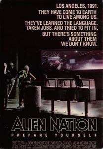 Alien Nation Movie Poster Postcard