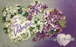 Valentines Day, Old Vintage Antique, Postcard Post Cards