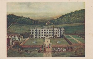 Wiltshire Postcard - Longleat House, Painting By Jan Siberechts RS22685