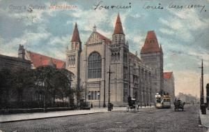 Owen's College, Manchester, England, Used in 1904
