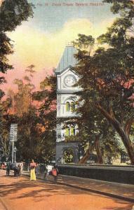 Ceylon Clock Tower General Hospital Street Psotcard