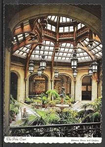 North Carolina, Biltmore House, Palm Court, unused