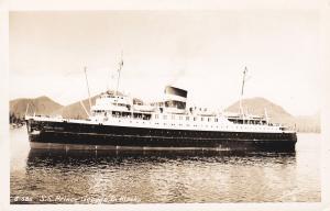 RP, Ocean Liner PRINCE GEORGE in Alaska, 1930-50s
