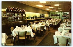 Postcard NJ Atlantic City Stanley Restaurant Interior C20