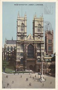 England London Westminster Abbey 1949