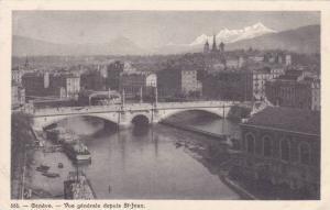 Vue Generale Depuis St-Jean, Geneve, Switzerland, 1910-1920s
