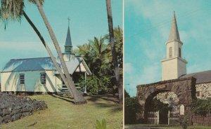 KONA , Hawaii , 1950-60s ; 2 churches