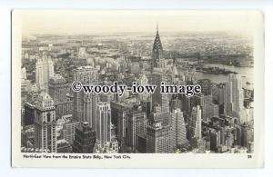 ft1620 - View from Empire State Building , New York City , NY , USA - postcard