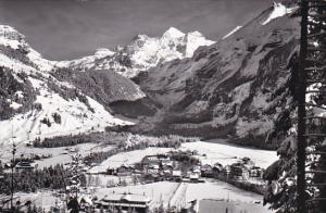 Switzerland Berne Kandersteg mit Bluemlisalp Real Photo