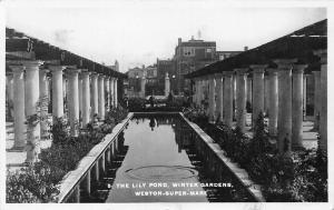 Weston-Super-Mare, The Lily Pond, Winter Gardens 1935