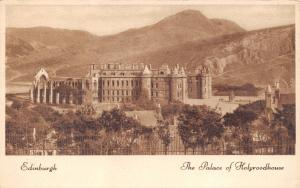 Vintage 1946 Postcard Edinburgh, Palace of Holyroodhouse. Velvette Gravure #E