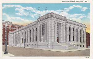 Post Office , LAFAYETTE , Indiana , PU-1940
