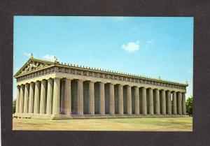 TN The Parthenon Centennial Park Nashville Tennessee Postcard