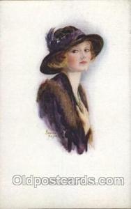Artist Signed Marjorie Mostyn Postcard Postcards Marjorie mostyn, Fair Of Fea...
