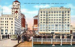 California Long Beach Rainbow Pier Spit and Argue Club
