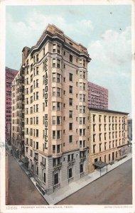 Peabody Hotel Memphis Tennessee 1910 Phostint postcard