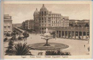 49763   CARTOLINA d'Epoca - FOGGIA citta' : PIAZZA CAVOUR