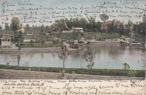 Illinois Peoria Lake Glen Oak Park 1907