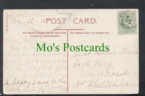 Genealogy Postcard - House History - Cickbury,Winchcombe,Gloucestershire RF6543