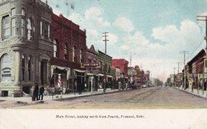 FREMONT , Nebraska, 1910 ; Main Street